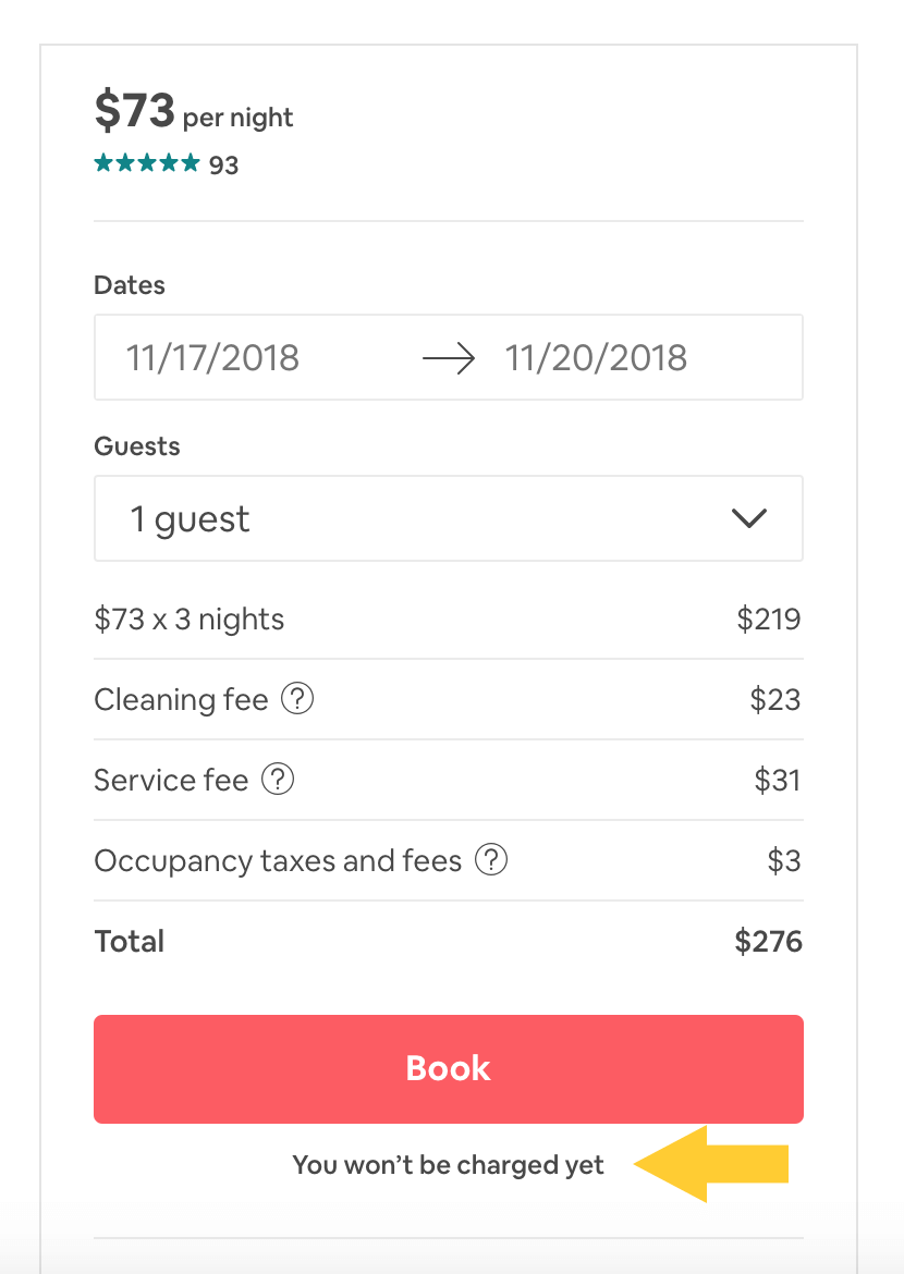 UX Writing Airbnb