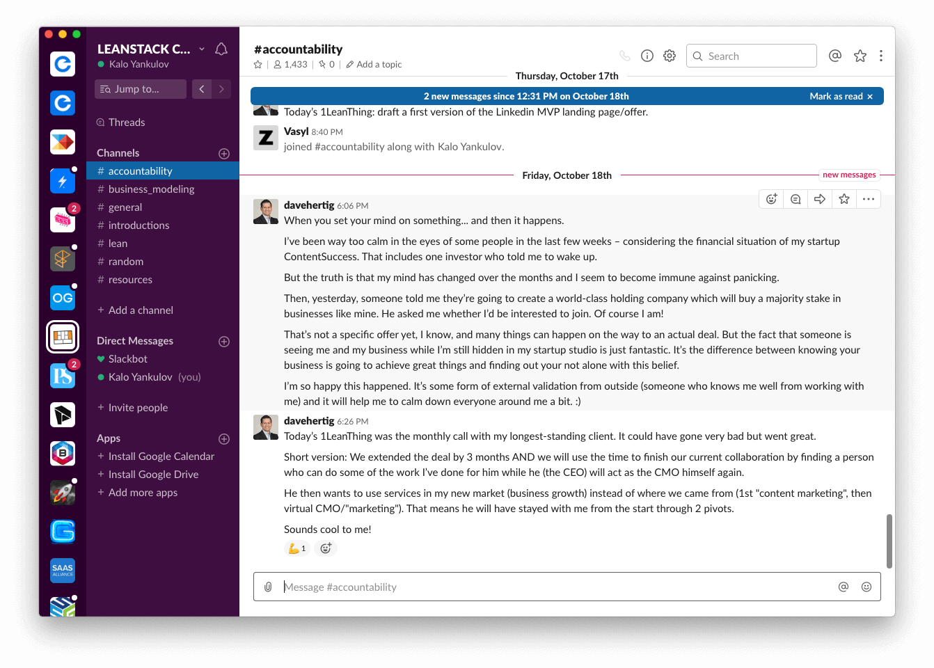 slack groups and communities for product managers — leanstack