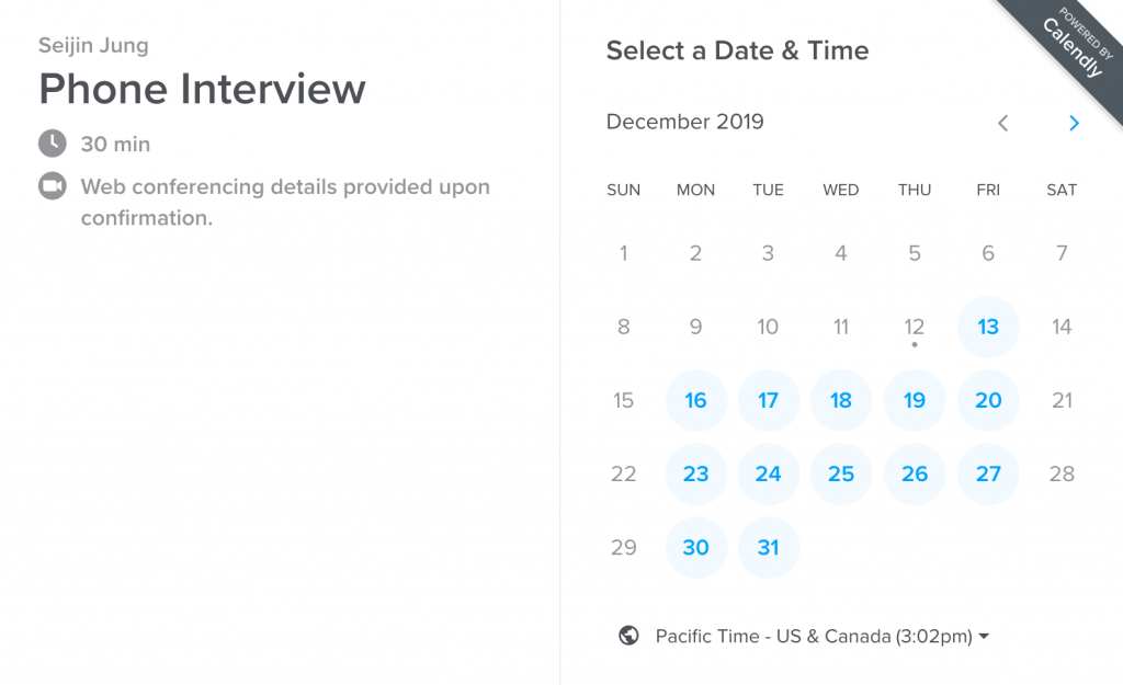 Calendly product-led growth