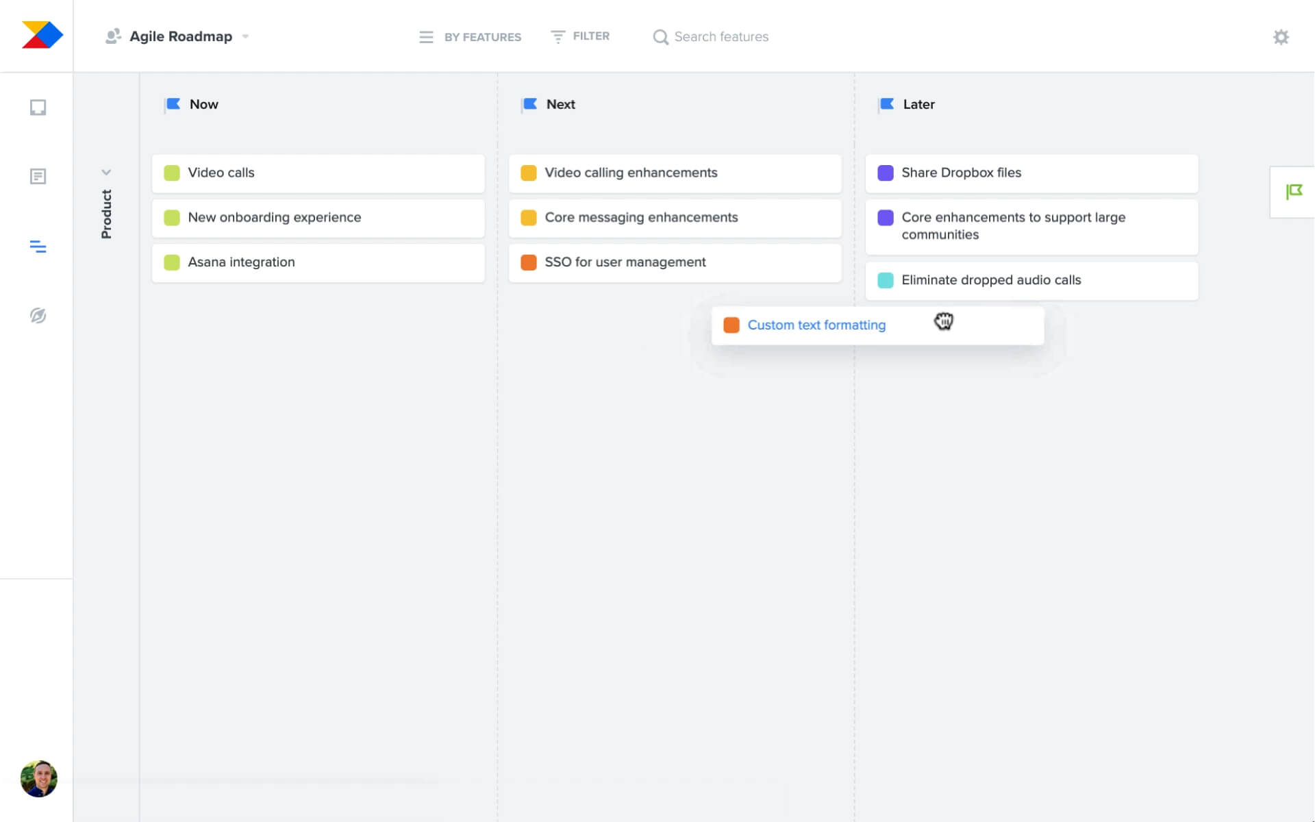 Align everyone around the product roadmap