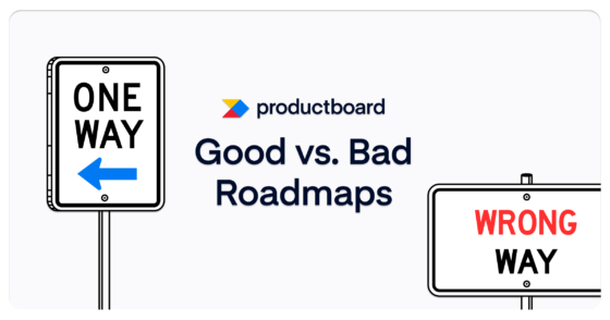Good vs. bad roadmaps (Infographic)