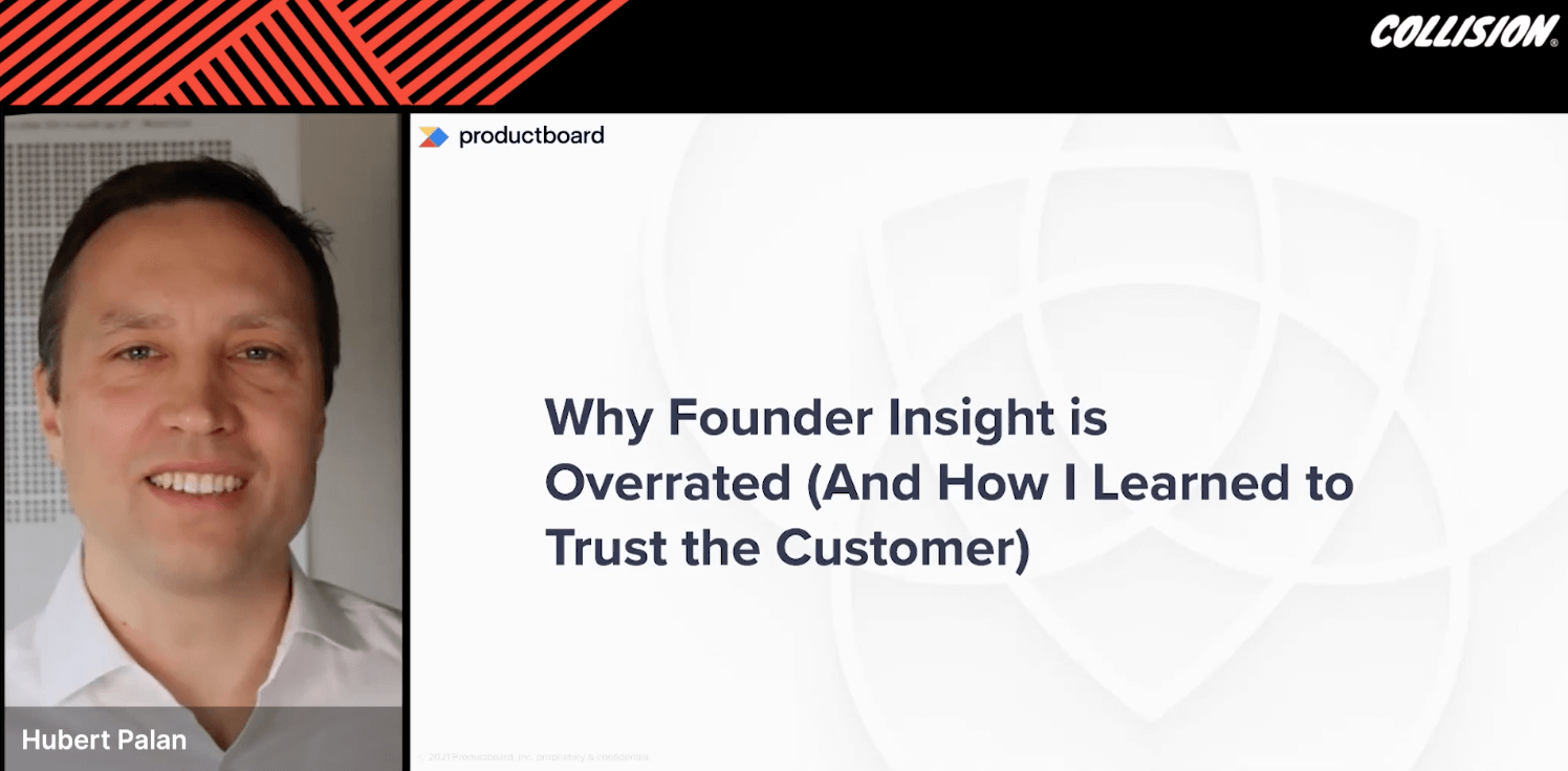 Why founder insight is overrated (and how I learned to trust the customer)