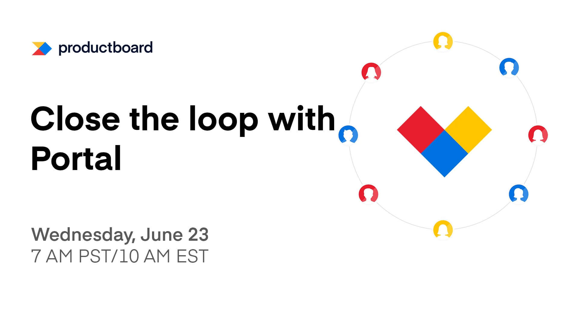 6/23 Live Training: Close the loop with Portal
