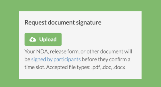 How we built this: User Interviews' Document Signing feature