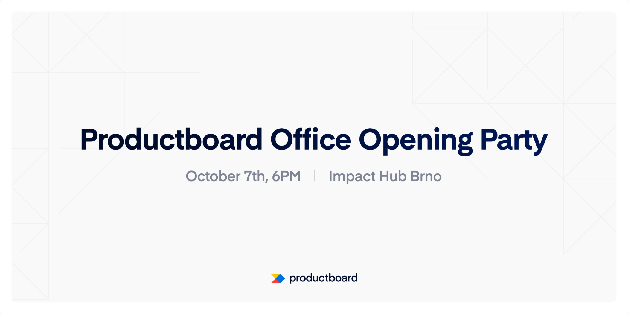 Productboard Office Opening Party in Brno